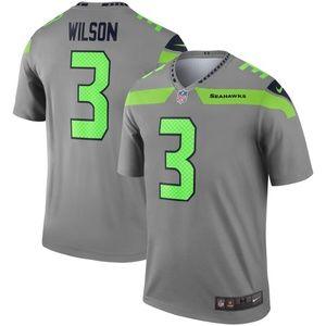 Seattle Seahawks 3 Russell Wilson Limited Jersey